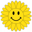 Cartoon Sun with a smile